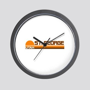 St. George, Utah Wall Clock