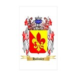 Hallisley Sticker (Rectangle 50 pk)