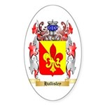 Hallisley Sticker (Oval 50 pk)