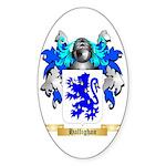 Hallighan Sticker (Oval 50 pk)