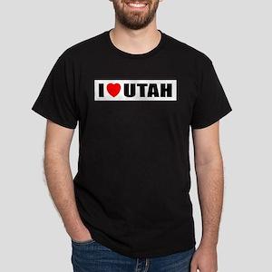 I Love Utah Dark T-Shirt