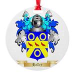 Halley Round Ornament