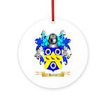 Halley Ornament (Round)