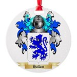 Hallam Round Ornament