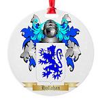 Hallahan Round Ornament