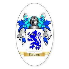 Hallahan Sticker (Oval)