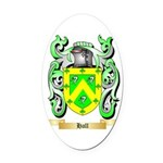 Hall Oval Car Magnet