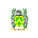 Hall Sticker (Rectangle 50 pk)