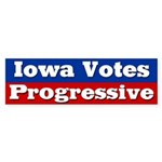 Iowa Progressive Bumper Sticker
