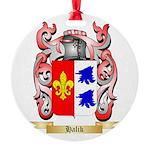 Halik Round Ornament