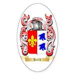 Halik Sticker (Oval)