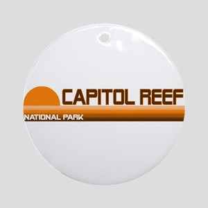 Capitol Reef National Park Ornament (Round)