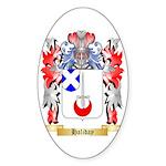 Haliday Sticker (Oval)