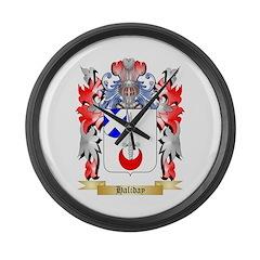 Haliday Large Wall Clock