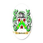 Halfyard Oval Car Magnet