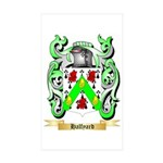 Halfyard Sticker (Rectangle 50 pk)