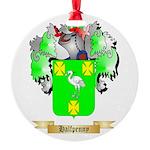 Halfpenny Round Ornament