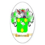 Halfpenny Sticker (Oval)