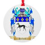 Halford Round Ornament