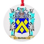 Halfhide Round Ornament