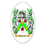 Halfacre Sticker (Oval 50 pk)