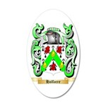 Halfacre 35x21 Oval Wall Decal