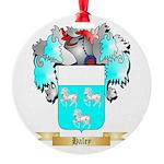 Haley Round Ornament