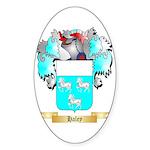Haley Sticker (Oval 10 pk)