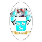 Haley Sticker (Oval 50 pk)