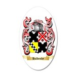 Haldenby 35x21 Oval Wall Decal