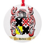 Halden Round Ornament