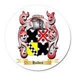 Halden Round Car Magnet