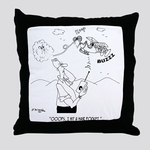 Hair Cartoon 5786 Throw Pillow