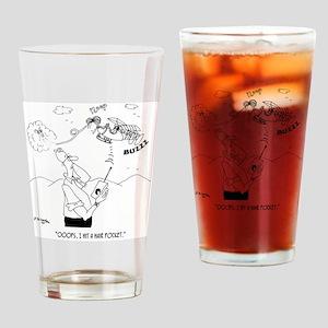 Hair Cartoon 5786 Drinking Glass