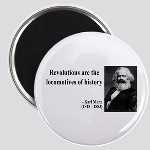 Karl Marx Quote 7 Magnet