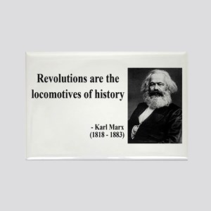 Karl Marx Quote 7 Rectangle Magnet