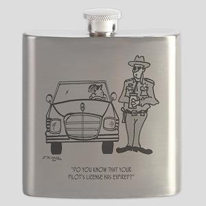 Pilot Cartoon 5214 Flask