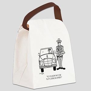 Pilot Cartoon 5214 Canvas Lunch Bag
