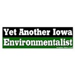 Iowa Environmentalist Bumper Sticker