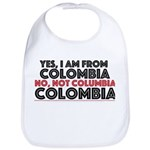 Yes, I am from Colombia Bib