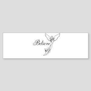 I believe in angels Bumper Sticker