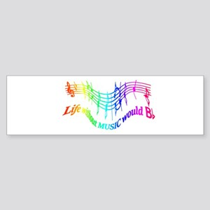Without Music Life would be flat Humor Quote Bumpe