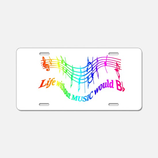 Without Music Life would be flat Humor Quote Alumi