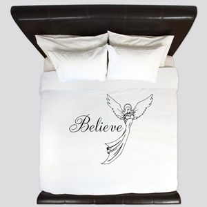 I believe in angels King Duvet