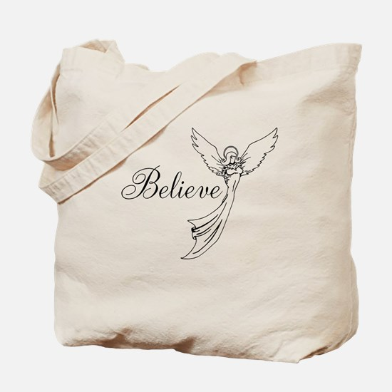 I believe in angels Tote Bag