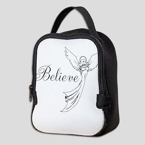 I believe in angels Neoprene Lunch Bag