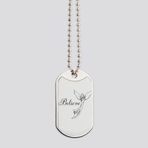 I believe in angels Dog Tags