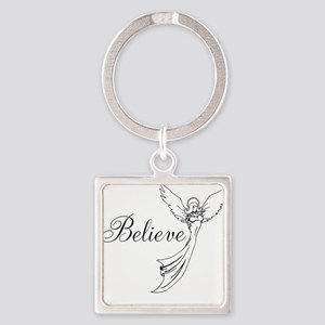 I believe in angels Keychains