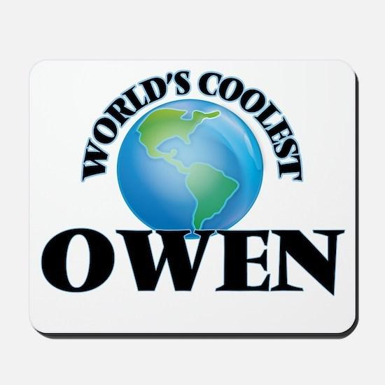 World's Coolest Owen Mousepad