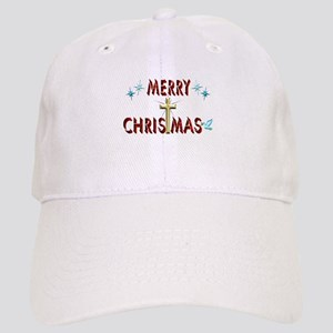 Merry Christmas with Cross Cap